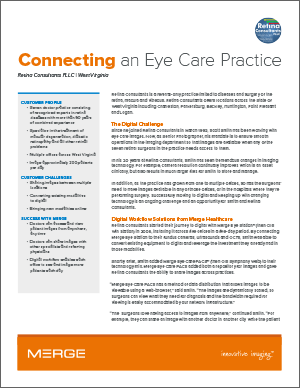 Connecting an Eye Care Practice Case Study