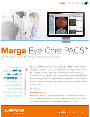 Merge Eye Care PACS
