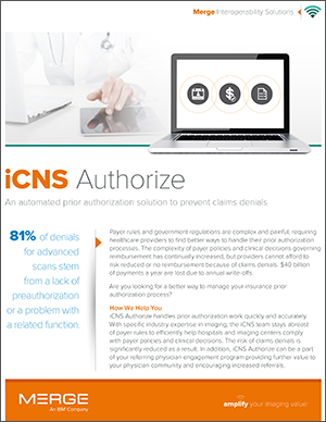 iConnect Network Authorize Datasheet