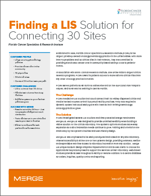 Finding a LIS for Connecting 30 Sites Case Study