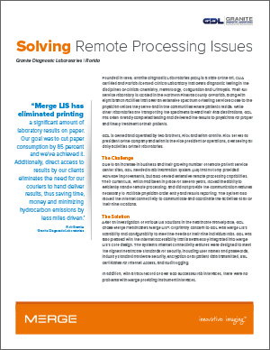 Solving Remote Processing Issues Case Study