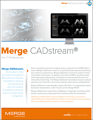Merge CADstream for IT Professionals