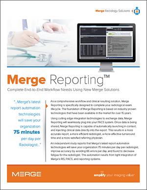Merge Reporting™ Complete End-to-End Workflow Needs Using New Merge Solutions
