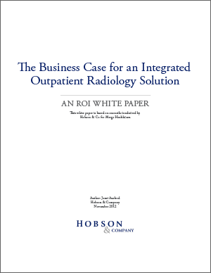 The Business Case for an Integrated Outpatient Radiology Solution