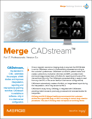 Merge CADstream 5.x for IT Professionals